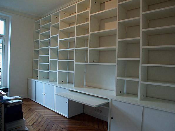 Atelier delius dossa bibliothèque et bureau